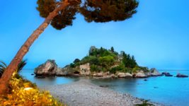Isola Bella Taormina Panorami Mario Pollino Photography